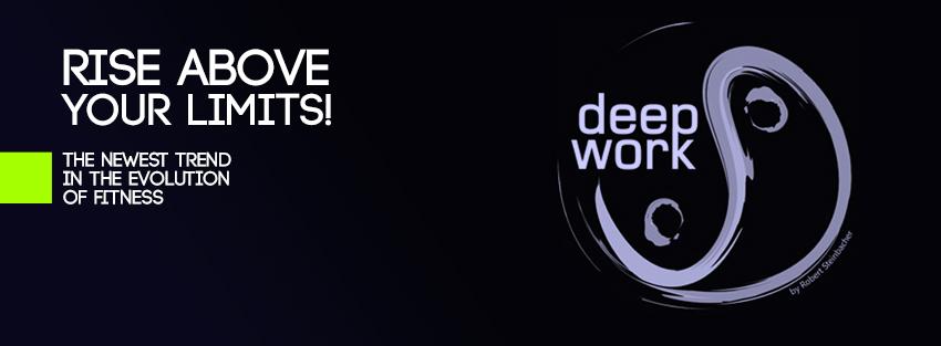 Pörögj, lazulj és töltődj deepWORK™-el!
